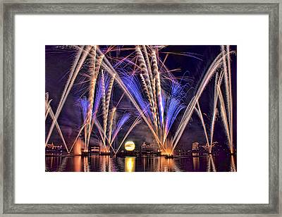 Illuminations-1 Framed Print by Tom Weisbrook