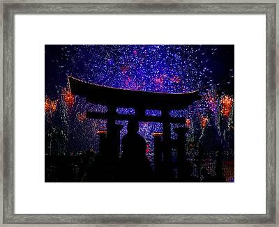Illuminations Original Work Framed Print by David Lee Thompson