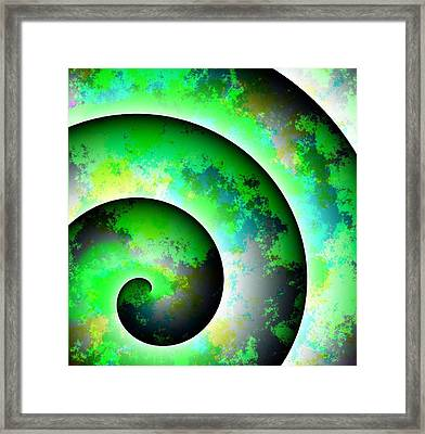 Illusion Framed Print by Cameron Rose