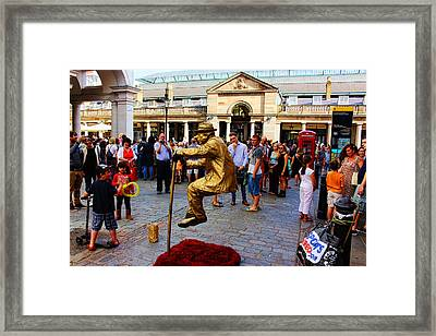 Illusion Covent Garden Framed Print by Nicky Jameson