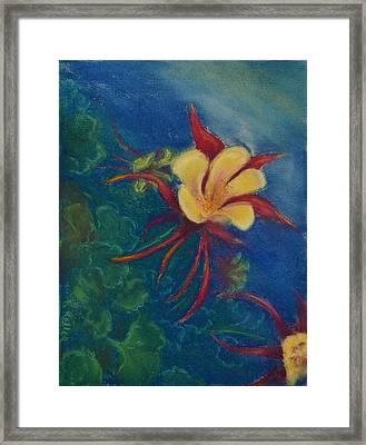 Illusion Framed Print by Kathleen Keller