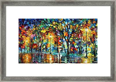 Illusion  Framed Print by Leonid Afremov