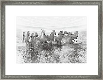 Illusion Of Power (13 Horse Power Though) Framed Print