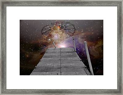 Illusion Of Time Framed Print