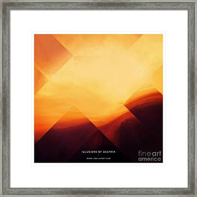 Illusions Of Despair Framed Print by Lonnie Christopher