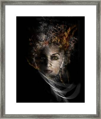 Illusory Framed Print