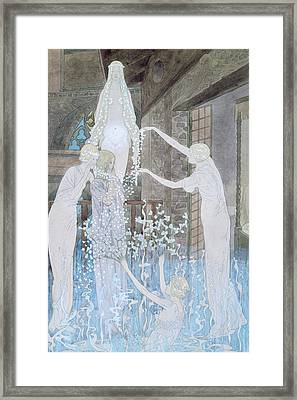 Illustation From Le Reve Framed Print