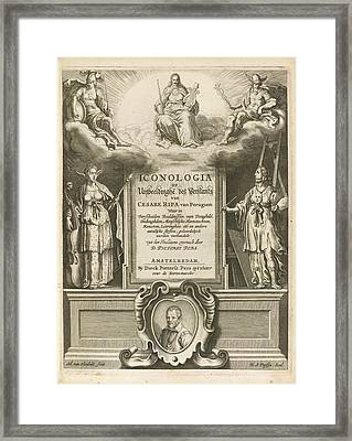 Illustrated Title Page Framed Print