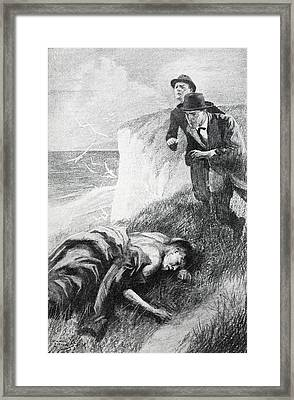 Illustration From The Adventure Framed Print