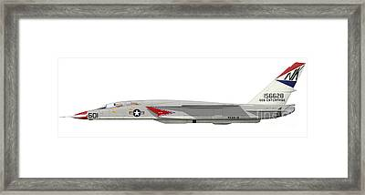 Illustration Of An Ra-5c Vigilante Framed Print