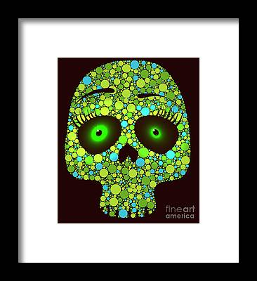 Visual Illusion Framed Prints