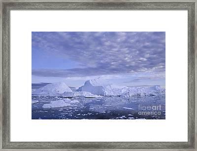Ilulissat Icefjord Greenland Framed Print by Rudi Prott