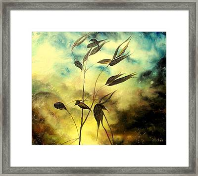 Framed Print featuring the painting Ilusion by Sorin Apostolescu