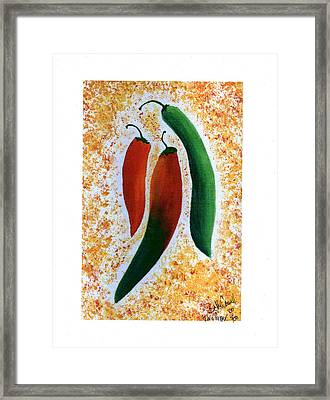 I'm A Pepper Framed Print