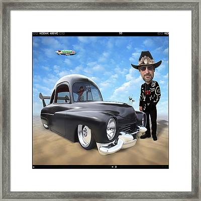 I'm Back . . . Framed Print