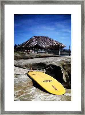 I'm Board Framed Print by Peter Tellone