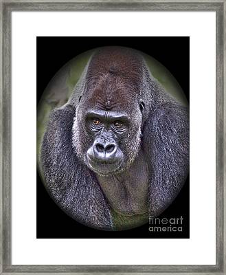 I'm Boss Framed Print