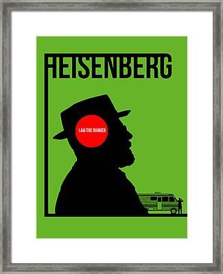 I'm Danger Poster 1 Framed Print