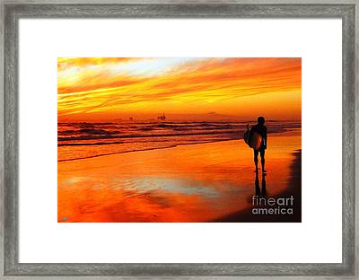 Im Done Framed Print