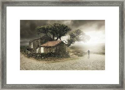 I'm Leaving Framed Print by Nuno Araujo