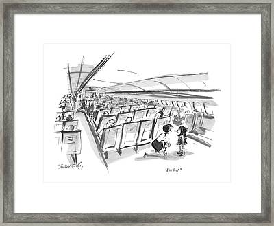 I'm Lost Framed Print by Donald Reilly