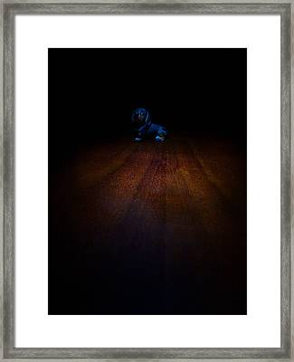 I'm Not A Toy Framed Print by Alessandro Della Pietra