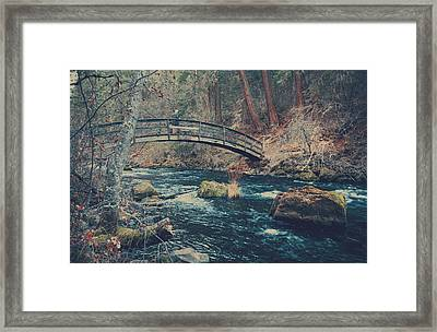 I'm On Your Side Framed Print by Laurie Search