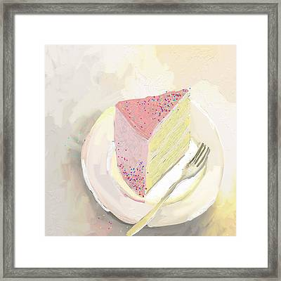 I'm Out Of Cake Framed Print