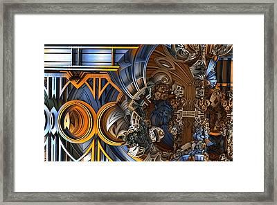 Im Really Confused Framed Print by Ricky Jarnagin