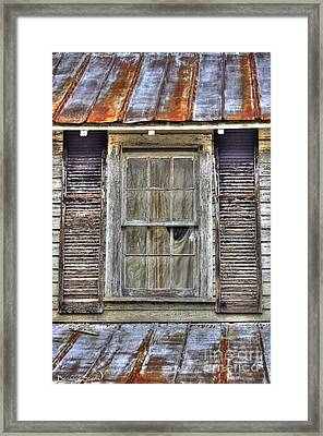 I'm Watching You Framed Print by Benanne Stiens