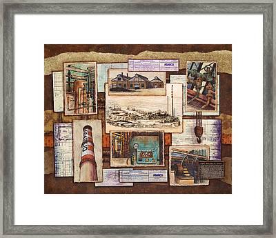 Images Of Asarco Framed Print