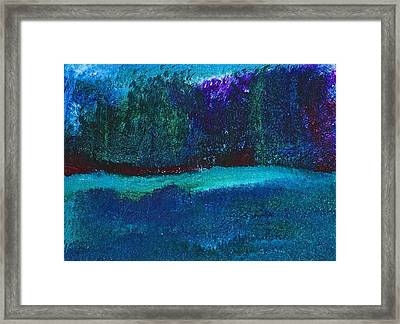 Framed Print featuring the painting Imaginary Forest by Tracey Myers