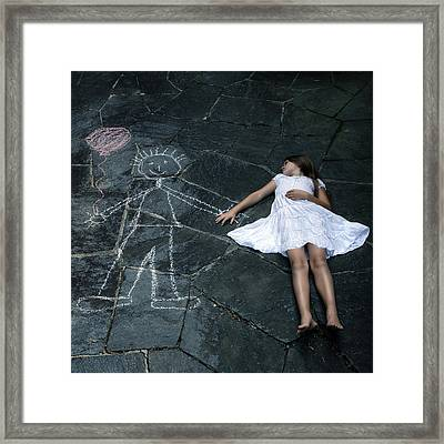 Imaginary Friend Framed Print by Joana Kruse