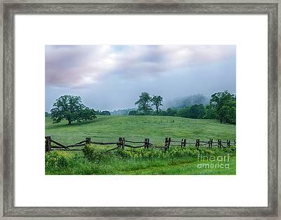Imaginary Morning On The Blue Ridge I Framed Print by Dan Carmichael