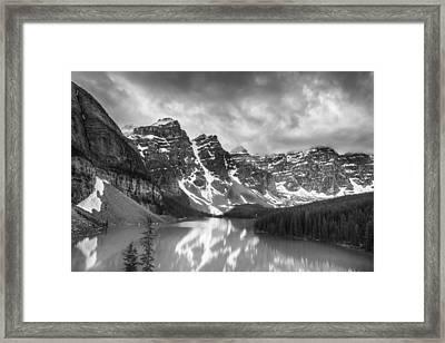Imaginary Waters II Framed Print by Jon Glaser