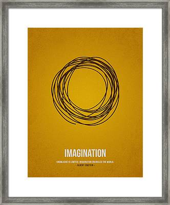 Imagination Framed Print by Aged Pixel