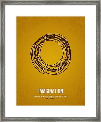 Imagination Framed Print by Aged Pixel