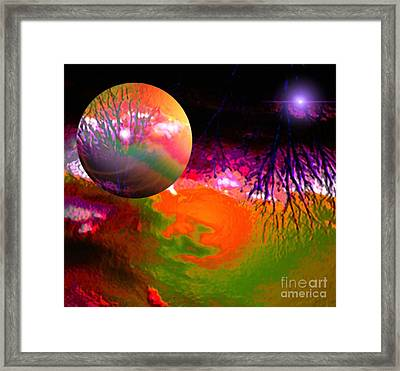 Imagination Gone Wild Framed Print by Gayle Price Thomas