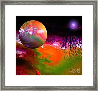 Imagination Gone Wild Framed Print