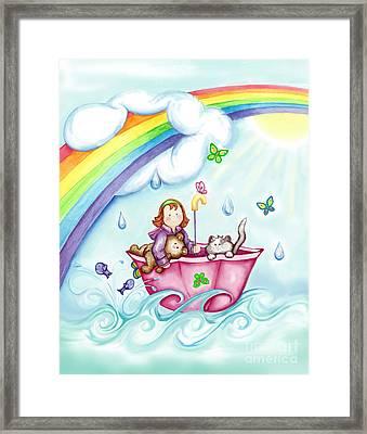 Imagination Land Framed Print by Dani Abbott