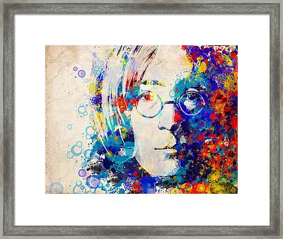 Imagine 5 Framed Print by Bekim Art