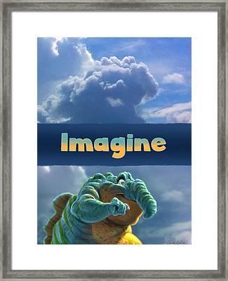 Imagine Framed Print by Aaron Blaise