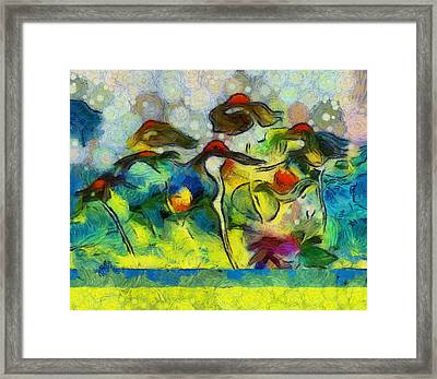 Imagine - D101-slv4clf Framed Print by Variance Collections