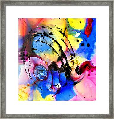 Imagine Everything Framed Print by Christine Ricker Brandt