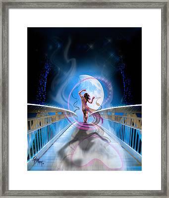 Framed Print featuring the photograph Imagine by Glenn Feron
