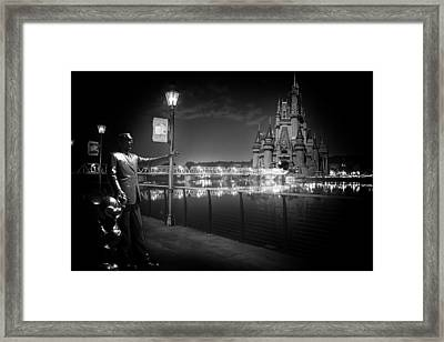 Imagine If Framed Print by Ryan Crane