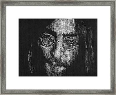 Imagine - John Lennon Framed Print