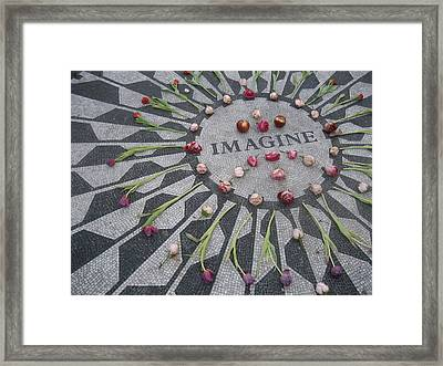 Imagine Framed Print by Kendell Timmers