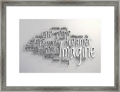 Imagine Framed Print by Scott Norris