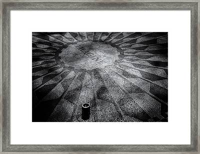 Framed Print featuring the photograph Imagine - Strawberry Fields by James Howe